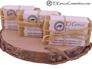3-pack natural donkey milk soap